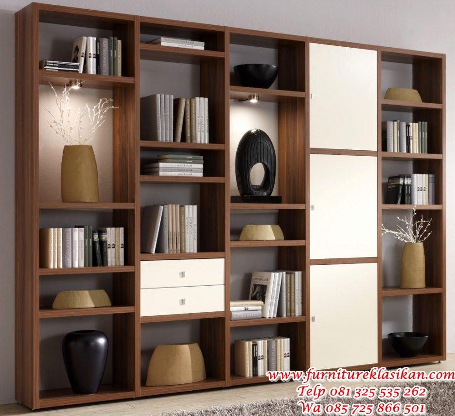 uncategorized-khles-gerumiges-roller-wohnzimmer-roller-ebenfalls-kuhles-wohnwand-nussbaum-roller lemari buku minimalisan modern