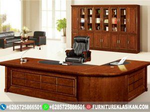 Meja Kantor Jati Classic Mewah