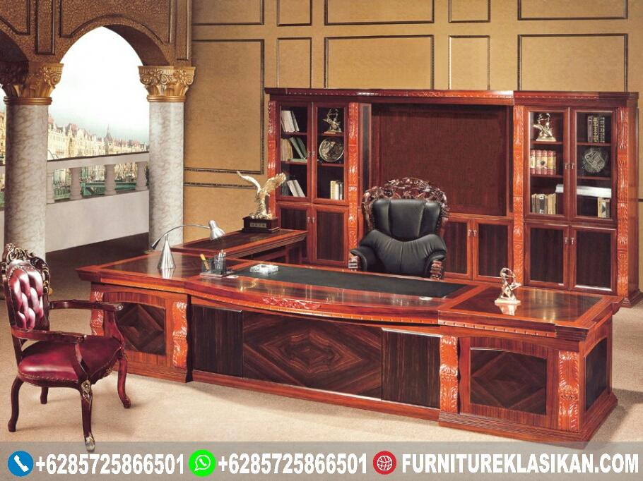 Meja-Kantor-Jati-Untuk-Direktur Meja Kantor Jati Untuk Direktur